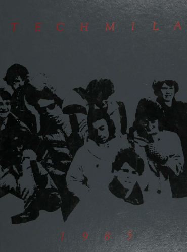 cover design of 1985 yearbook