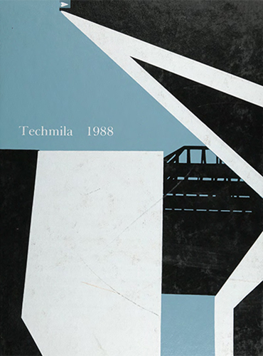 cover design of 1988 yearbook