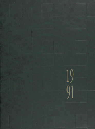 cover design of 1991 yearbook