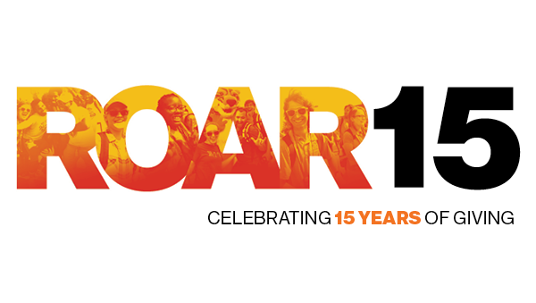ROAR15 - celebrating 15 years of giving