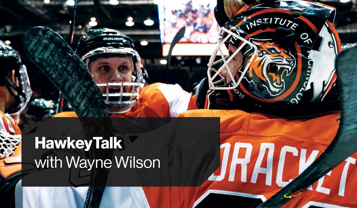 Hawkey Talk with Wayne Wilson