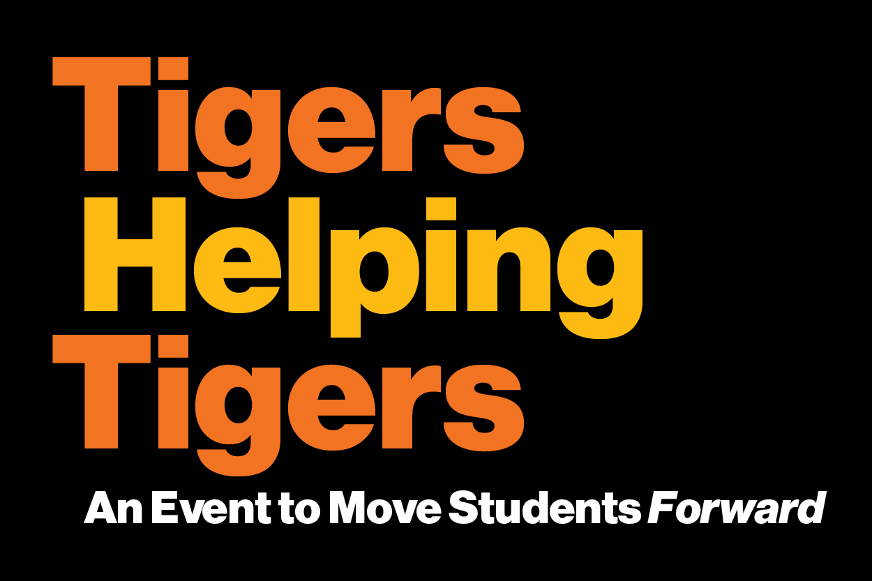 Tigers Helping Tigers: an event to move students forward
