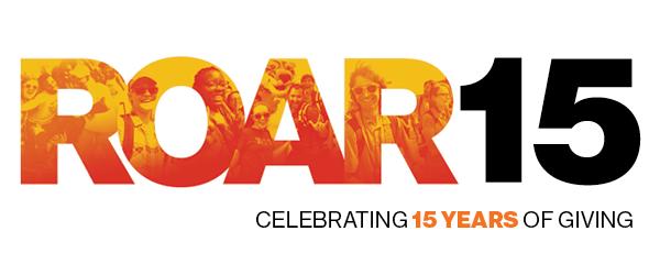 ROAR15 - celebrating 15 years of giving