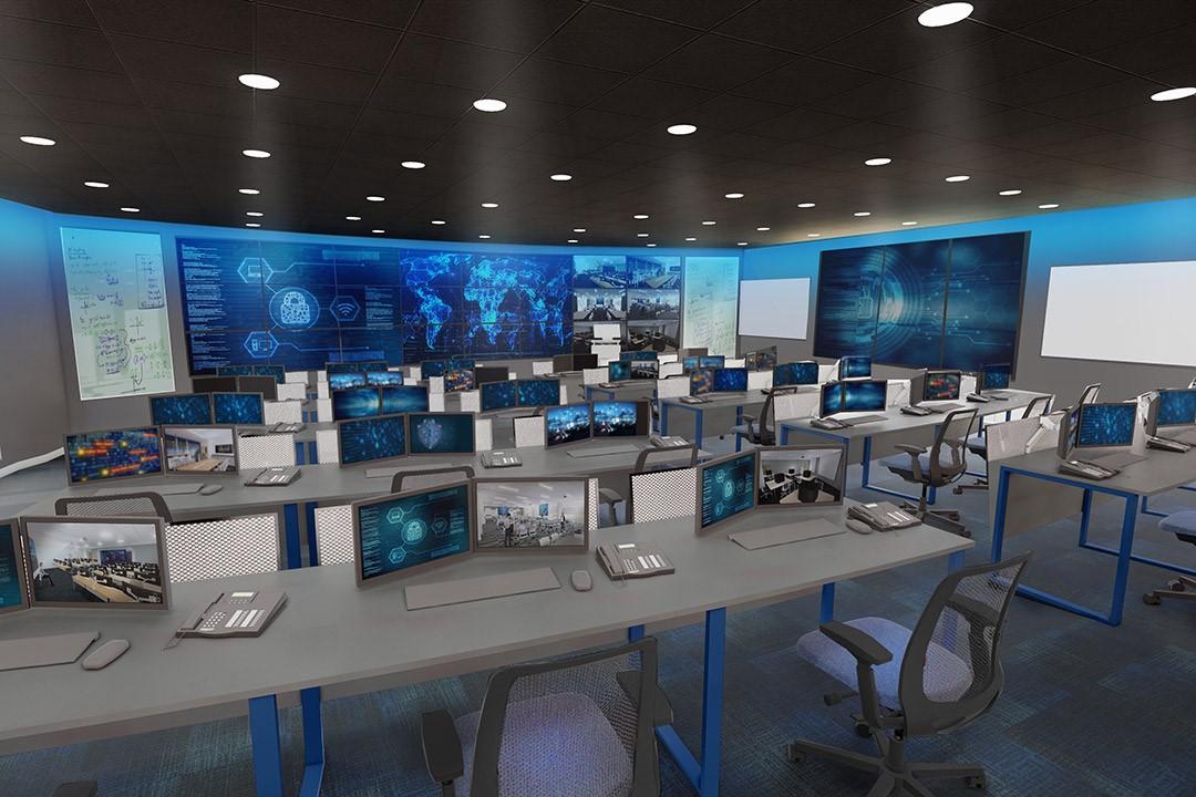 Cybersecurity Range Rendering