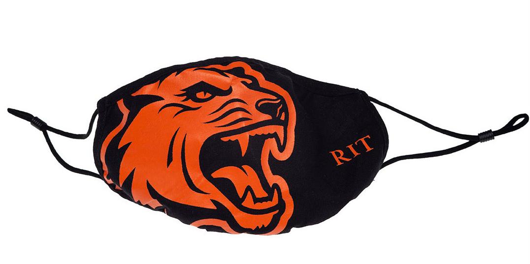 Tiger stripes mask