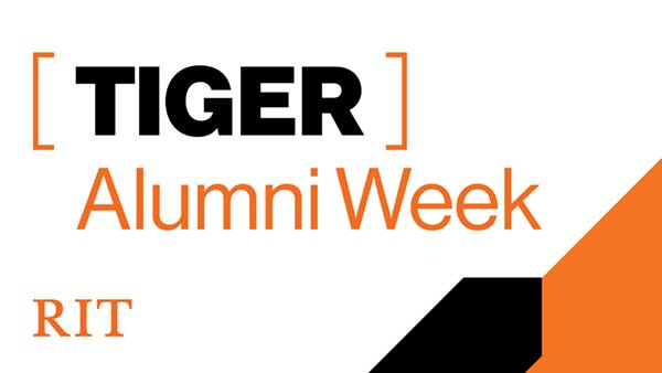RIT Tiger Alumni Week Graphic