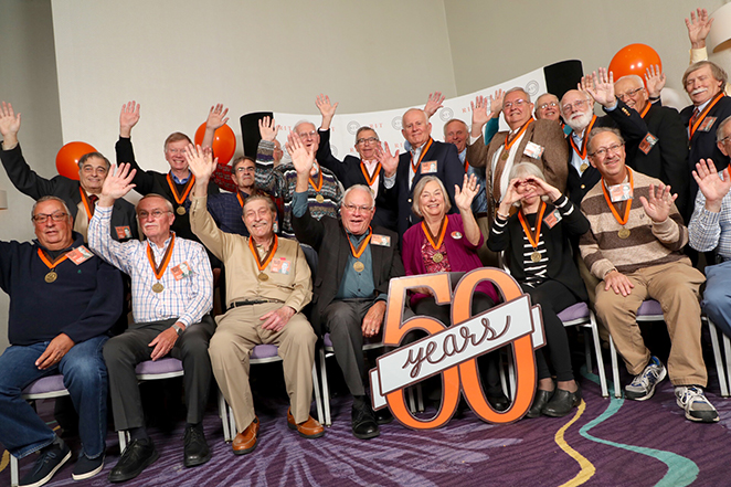 RIT alumni at 50th reunion