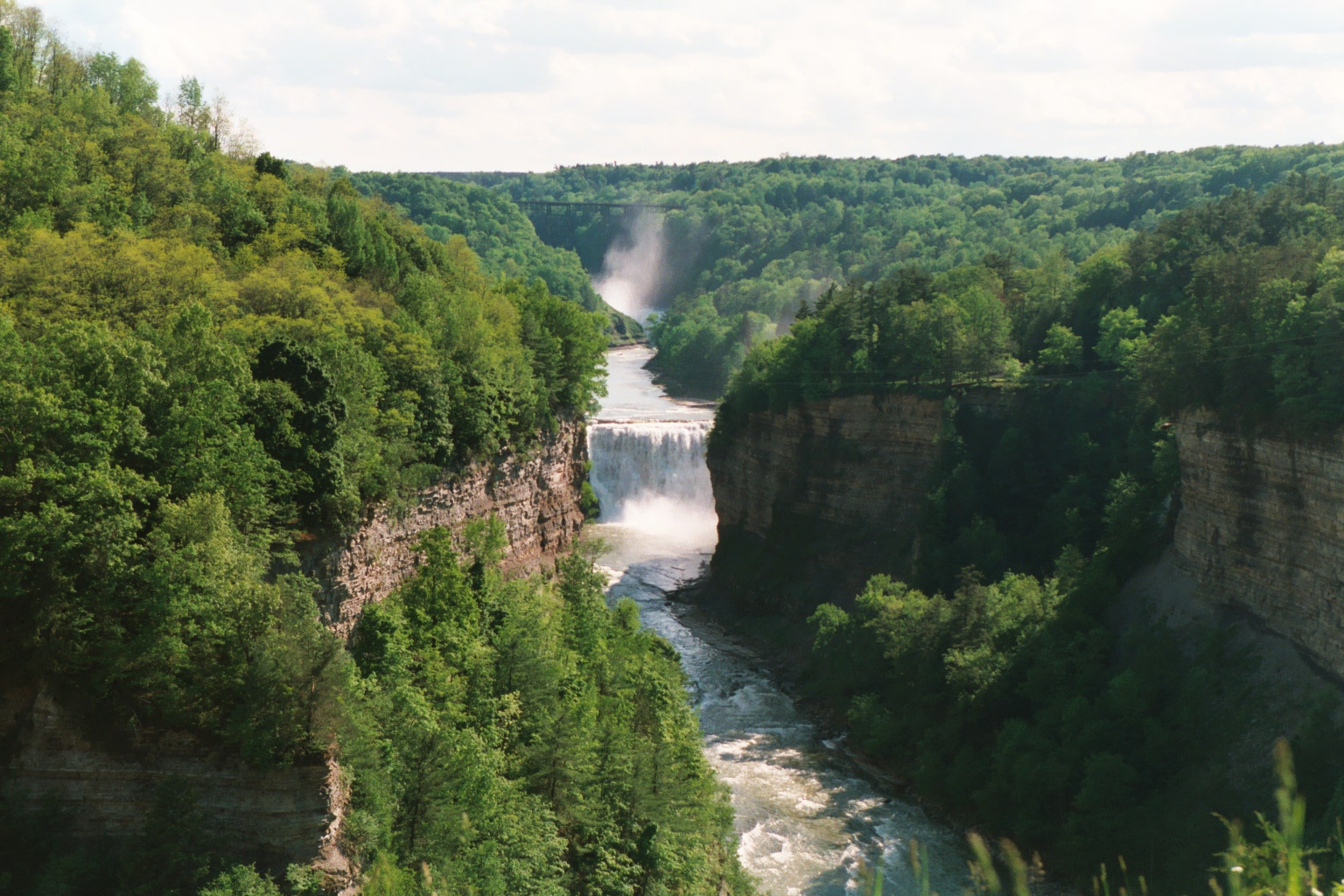 Letchworth State Park valley