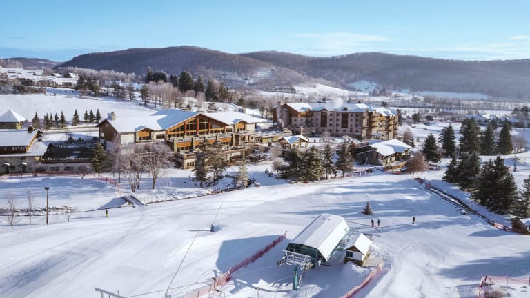 Holiday Valley ski slop and resort in Ellicottville, NY