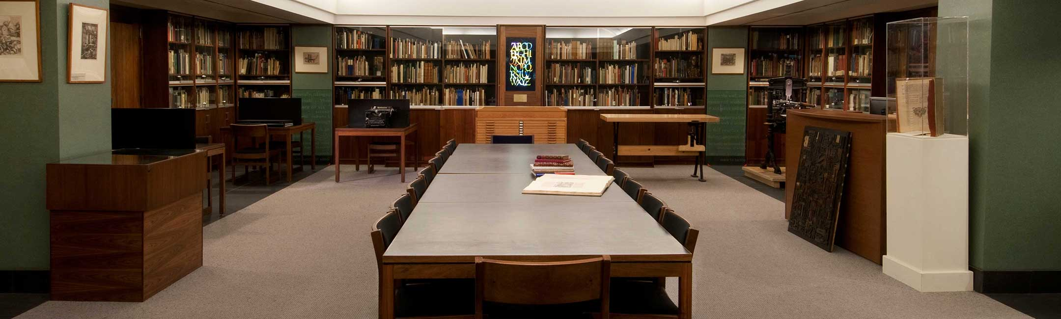 Cary Collection Reading Room