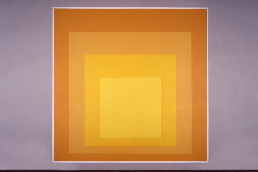 Josef Albers Collections Mural