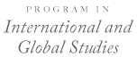 Program in International and Global Studies
