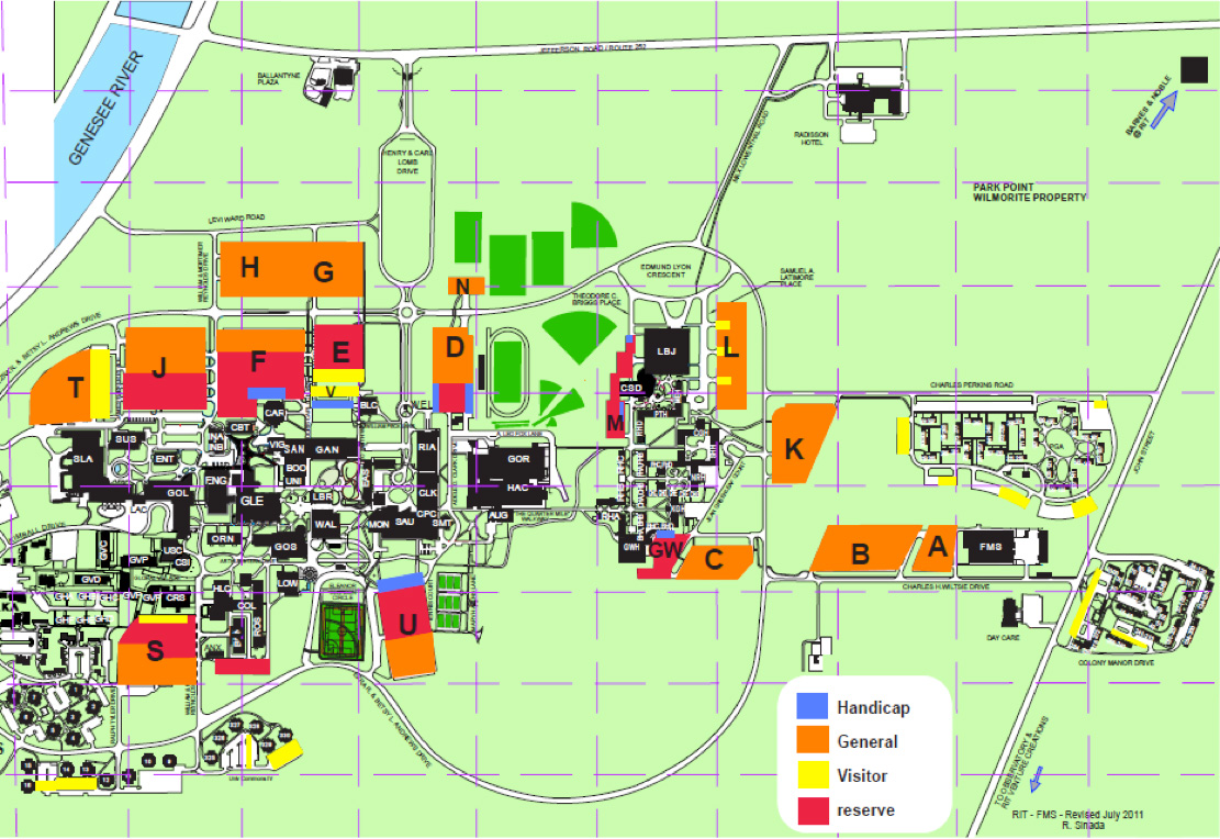 Rit Campus Map Pdf | Time Zones Map