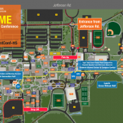 Campus Map for High School Attendees