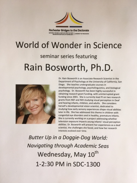 TWO DAYS until Dr. Bosworth's Presentation!