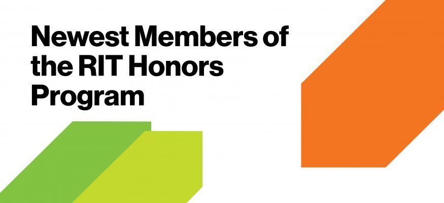 Newest Members of the RIT Honors Program
