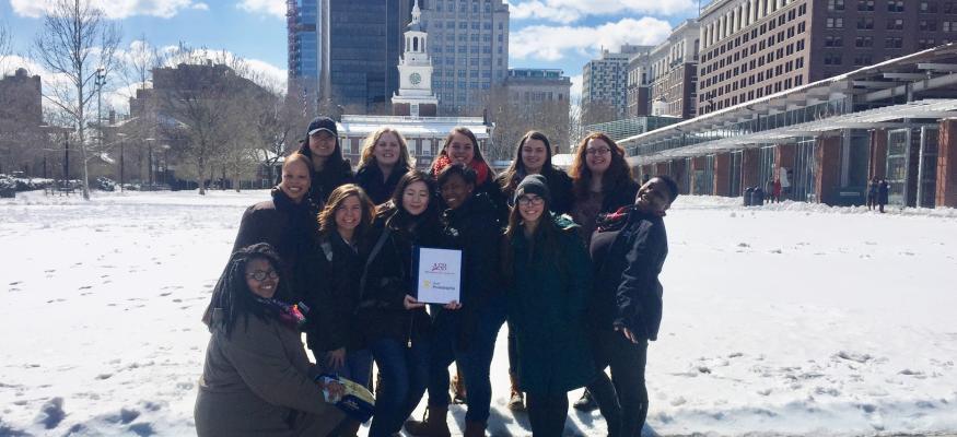 ALANA Students Attend Alternative Spring Break in Philadelphia!