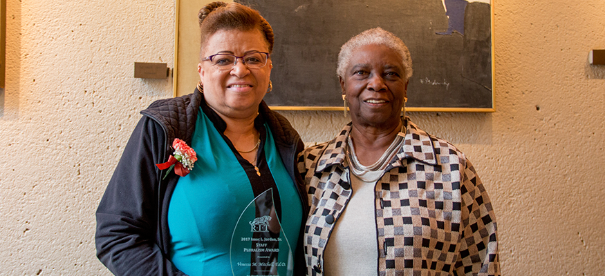 Dr. Mitchell embodies the values of the Isaac L. Jordan Sr. Pluralism Award