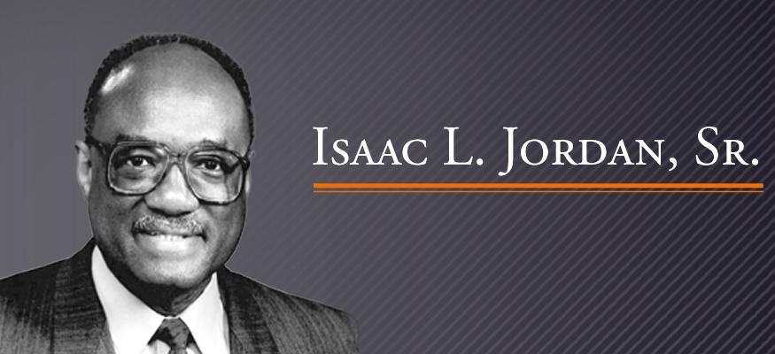 Honoring Isaac L. Jordan Sr. Student Scholarships and Faculty Pluralism Award Recipients