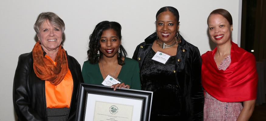 First RIT Student is Awarded the 2017 Independent Sector Award