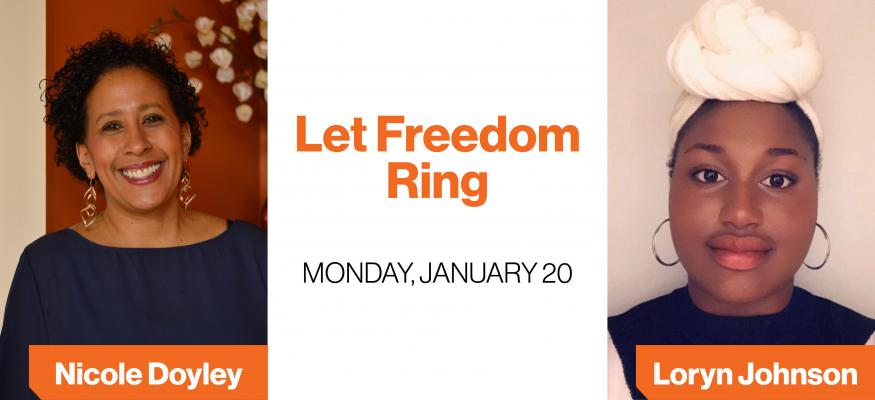 "Let Freedom Ring –""A Call to Conscience"" slated for January 20th"