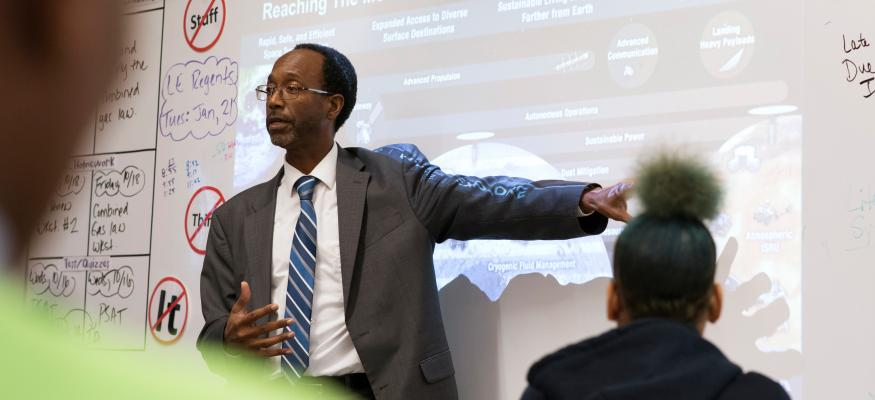 New Director of NASA Langley Research Center Discovered his