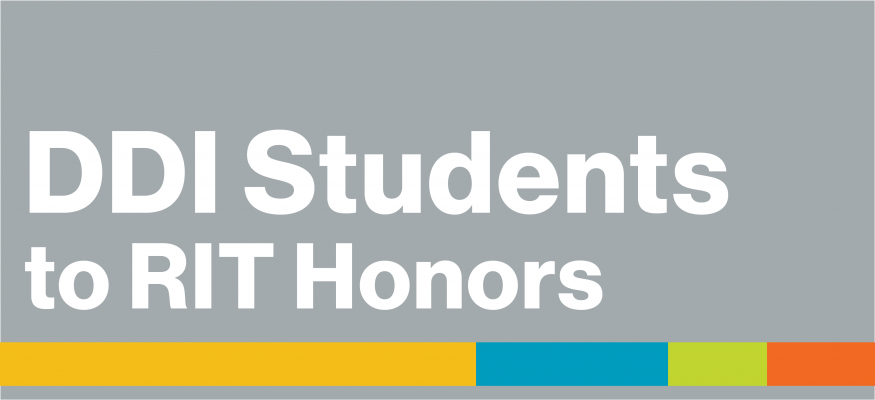Four DDI Students Named to RIT Honors Program