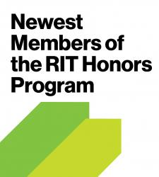 Newest Members of the RIT Honors Program
