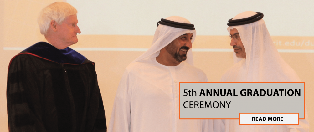 RIT Dubai 5th Commencement Ceremony