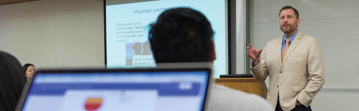 On-Campus Executive MBA with Sean Hansen