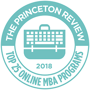 The Princeton Review - Top 25 Online MBA Programs 2018