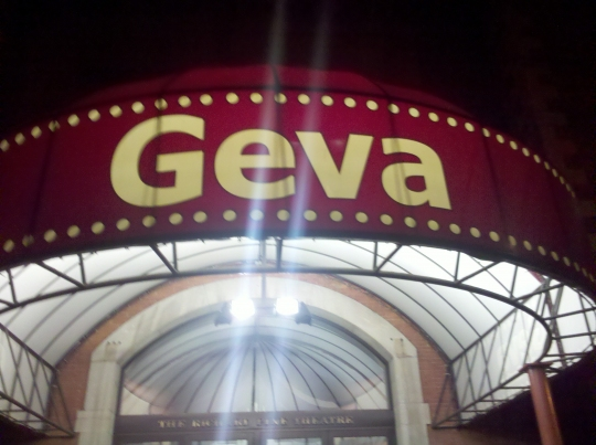 the geva theatre front