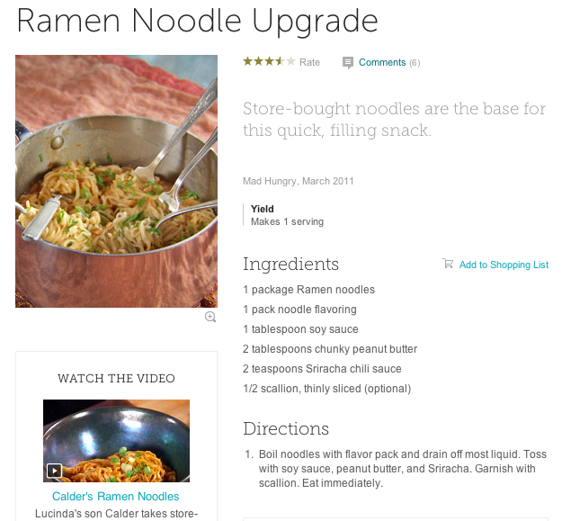 Thai Ramen Noodle Upgrade oh my gah! such an easy weeknight meal and ...