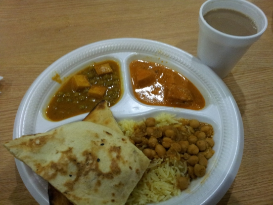My Plate from Haveli!