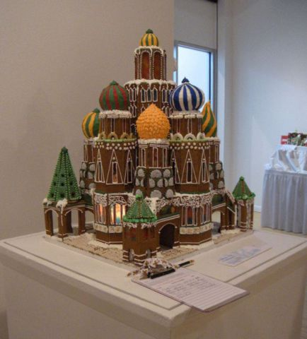 Sweet Creations Gingerbread Display