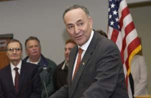 Chuck Schumer, senior U.S. Senator from New York