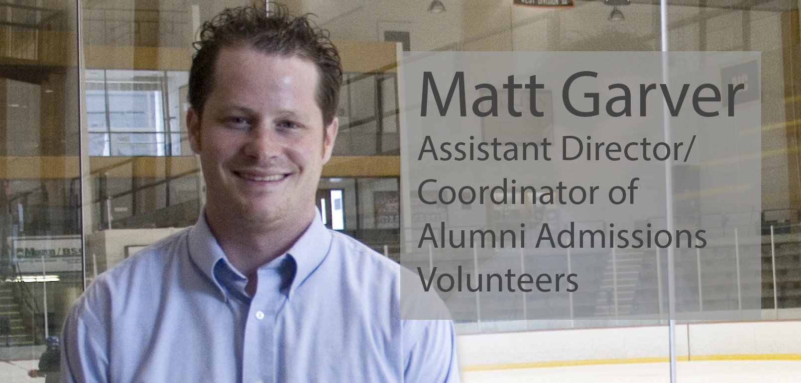 Matt pic Alumni Volunteers