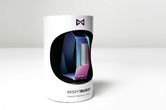 The Misfit Burst in it's packaging.