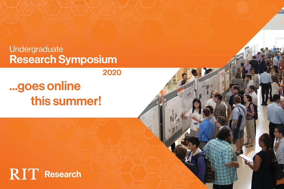 Undergraduate Research Symposium 2020…goes online this summer!