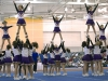 Cheerleading competitions at the Gordon Field House