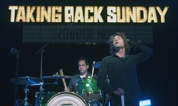 Taking Back Sunday at the Gordon Field House