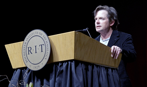 Michael J. Fox at RIT