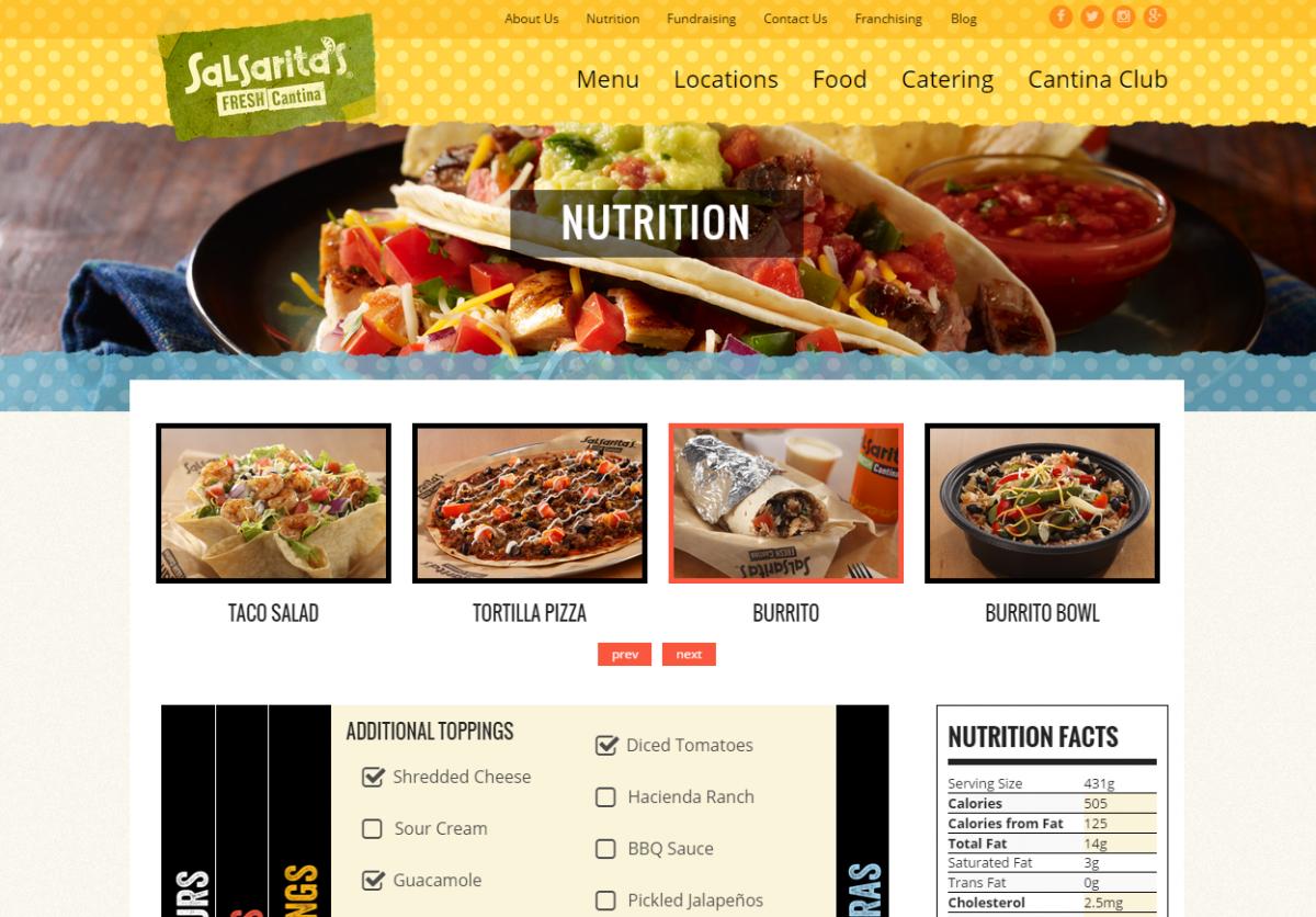 Salsaritas Nutrition Besto Blog
