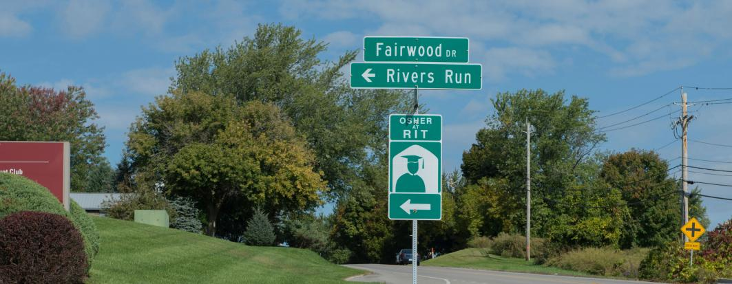 Fairwood Drive Street Sign