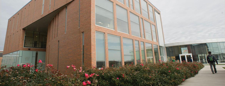 University Services building exterior