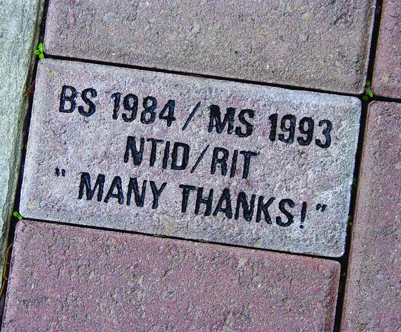 image of an engraved brick