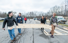 RIT students embrace Service Week with a Framing Frenzy