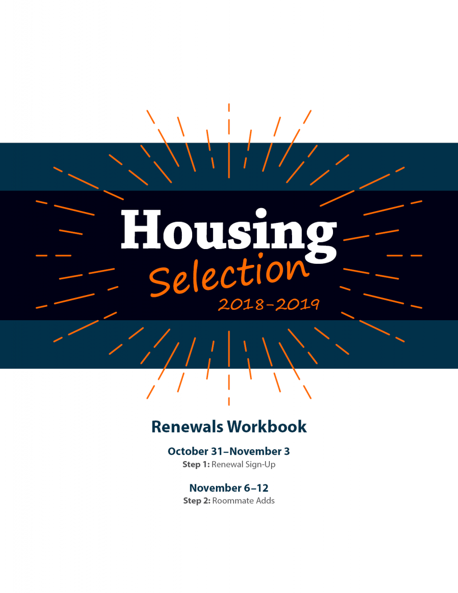 Housing Selection 2018 2019