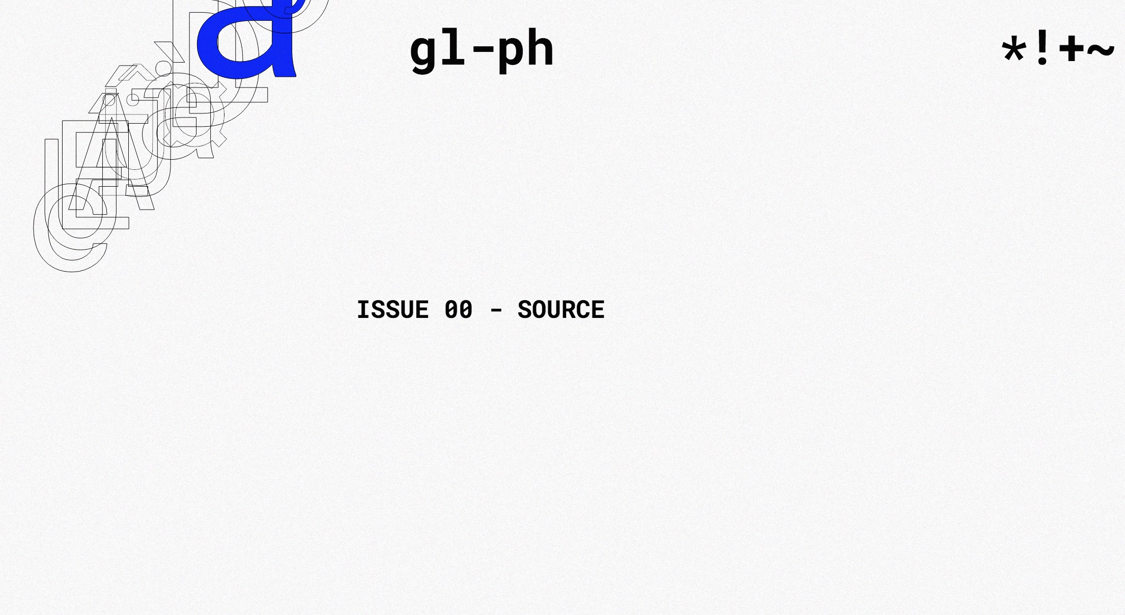 gl-ph: a digital literature journal