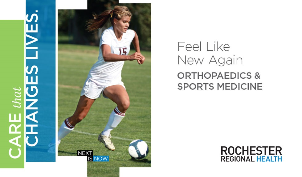 Rochester Regional Health presents... Discover Your Inner Athlete